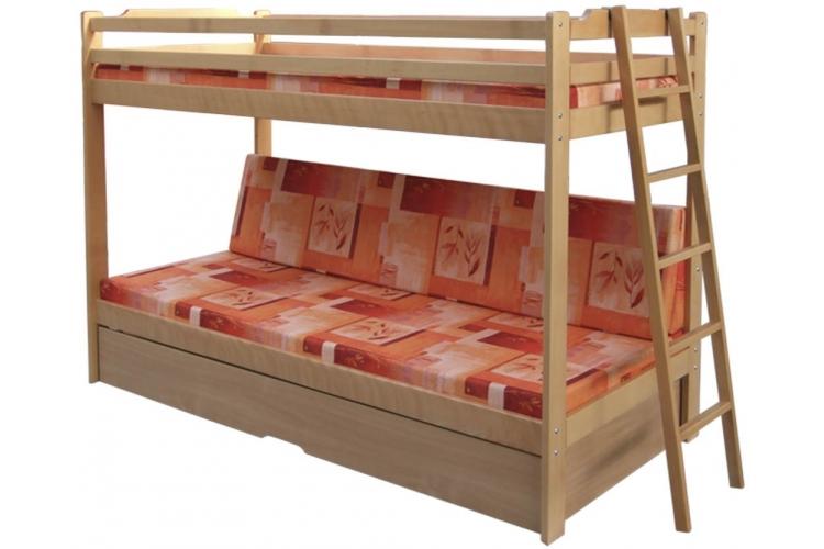 Poschodová posteľ Trio Exkluziv