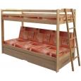 Poschodová posteľ Trio
